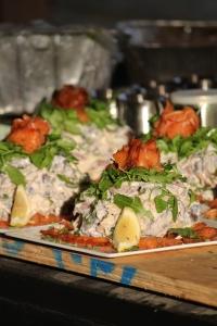 salmon pastrami peruvian potato